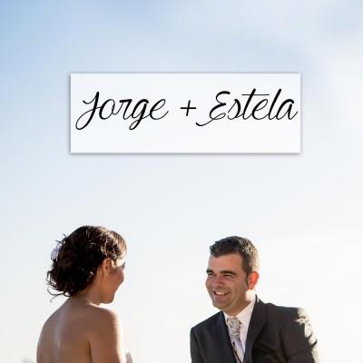 Jorge y Estela