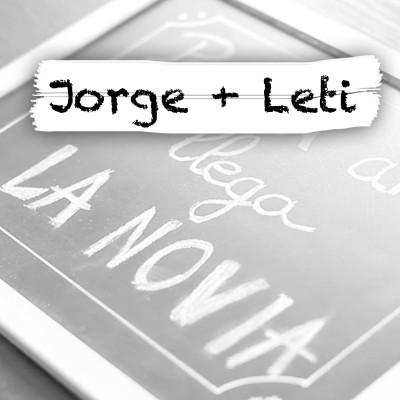 Jorge y Leti