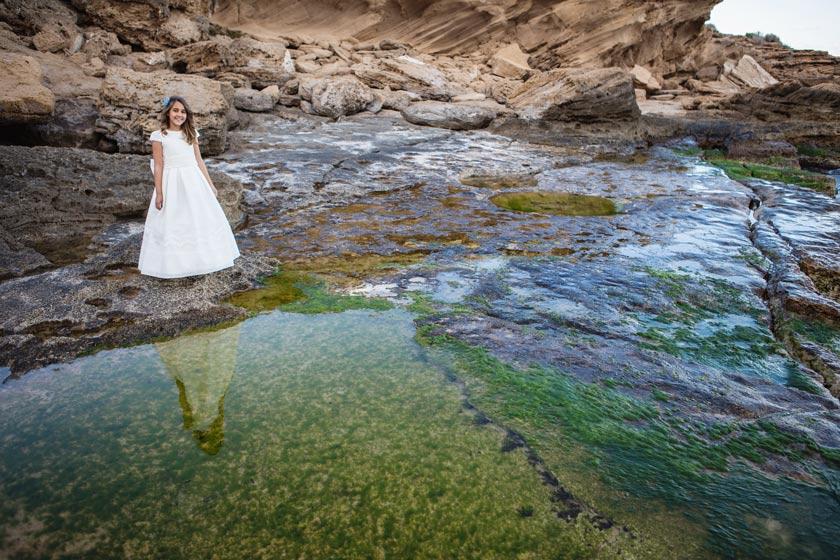 sesión de fotografia comunión en Alicante por Vortize Studio